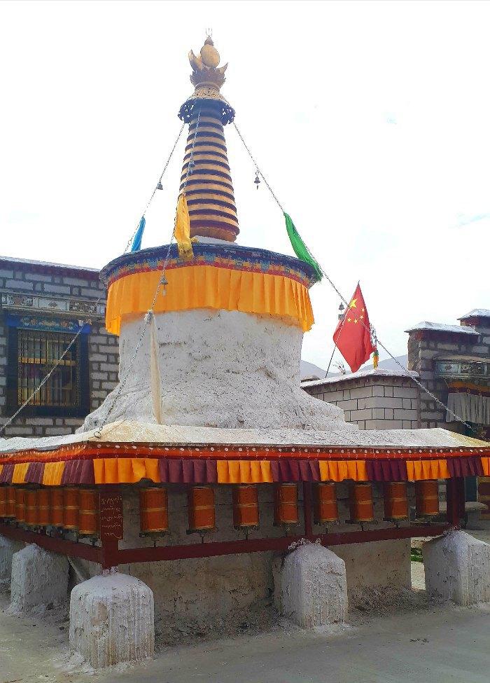 Буддисткое культовое сооружение