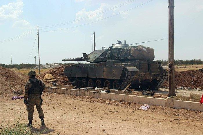 ВС Турции оставили коридор для выхода мирного населения из сирийского города Африн