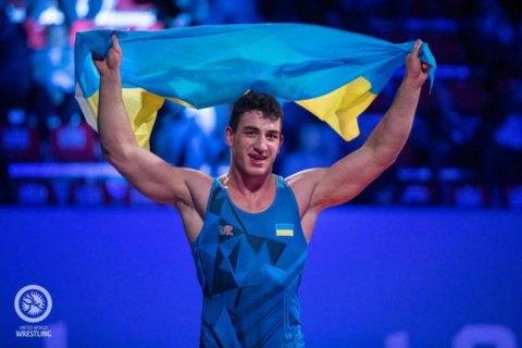 Украинский борец Семен Новиков стал чемпионом Европы
