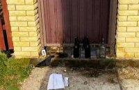 """Директор """"Київблагоустрою"""" отримав погрози у вигляді пляшок з """"коктейлем Молотова"""" під будинком"""