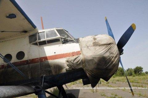 В Волынской области пограничники снова обнаружили самолет контрабандистов