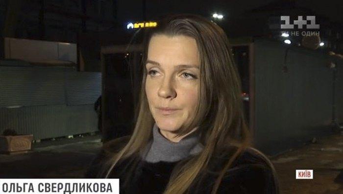 Мама мальчика Ольга Свердликова