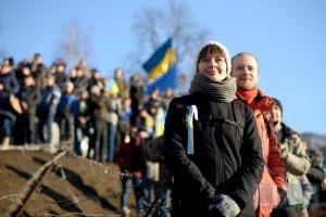 В Днепропетровске пикетировали прокуратуру с требованием расследовать нападение на Чорновол