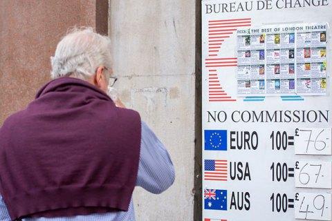 Курс британського фунта далі падає