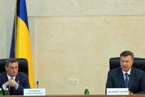 Янукович переплутав Одеську область з Донецькою