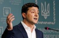 Зеленський не бачить проблеми в тому, щоб жителі Донбасу заповнювали документи російською мовою