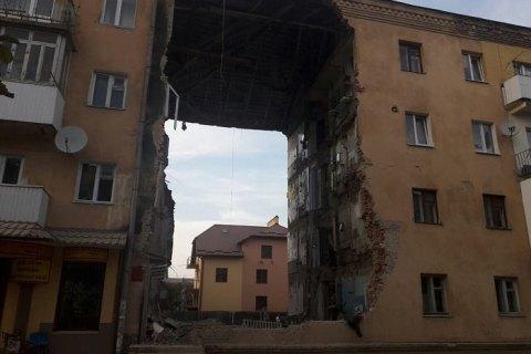 Завершено пошукові роботи на місці обвалення будинку в Дрогобичі, - ДСНС