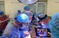 Во Львове впервые провели трансплантацию сердца и двух почек