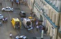 В центре Москвы такси въехало в толпу, среди пострадавших - украинец