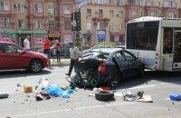 Запорожский суд дал условный срок водителю, по пьяни разбившему 7 авто
