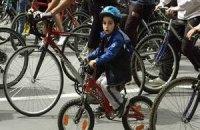 В Симферополе установят двухметровый велосипед