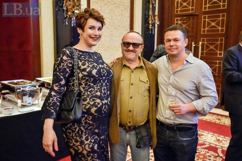 Фотокорреспондент Associated Press Ефрем Лукацкий и главный редактор журнала и сайта НВ Виталий Сыч