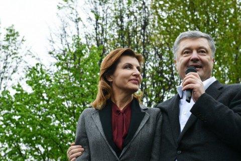 Порошенко совершил первый рабочий визит после выборов в единственную область, где Зеленский проиграл