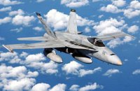 Два истребителя ВМС США столкнулись над Тихим океаном