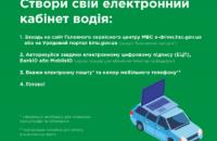 В Украине заработал электронный кабинет водителя