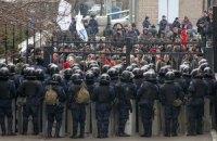 """Митингующие в Донецке требуют передать всю полноту власти """"губернатору"""" Губареву"""
