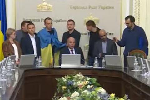 Парубий прервал согласительный совет Верховной Рады из-за протеста депутатов