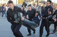 Количество задержанных в Москве увеличилось до 65 человек