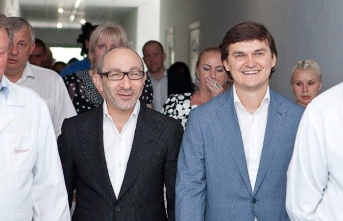 Валерий Писаренко и Геннадий Кернес