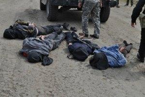 Во время проведения АТО на Донбассе 5 человек погибли, 12 ранены