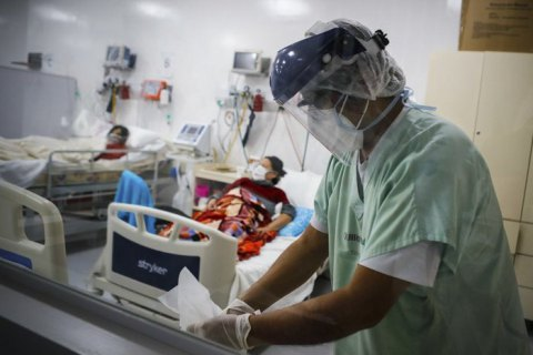 За добу у світі від COVID-19 померли понад 6,6 тис. осіб
