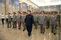 Ким Чен Ын впервые с середины октября появился на публике без трости
