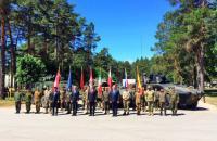 В Латвии официально начал действовать батальон НАТО