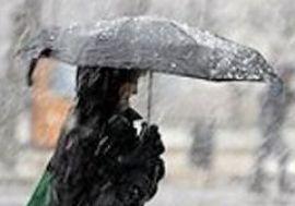 Украину ждут дожди и туман