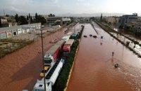 В результате наводнения под Афинами погибли пять человек
