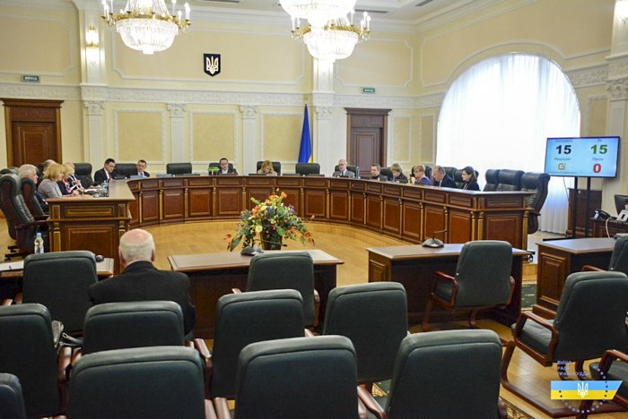 Засідання Вищої ради правосуддя 17 березня 2020 року