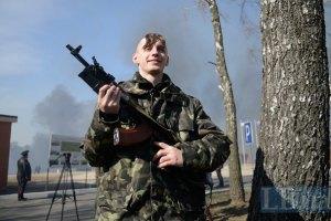 Майдановцев, которые прошли подготовку в Нацгвардии, отправляют в Славянск