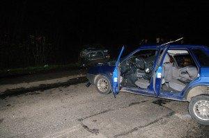 В Днепропетровске пьяный водитель разбил восемь авто