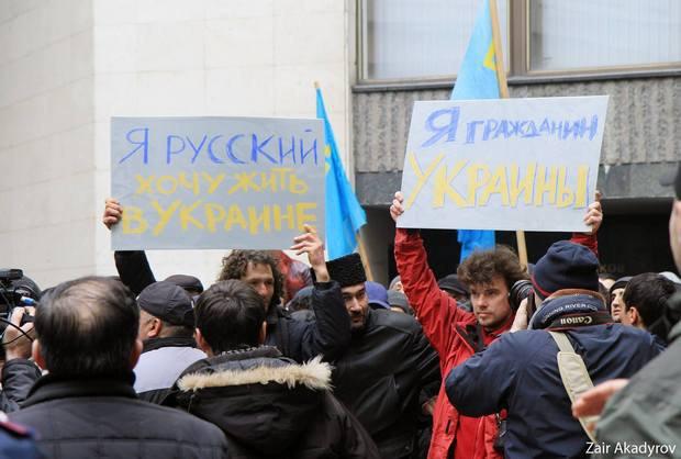 Не все русские Крыма выступают за российский статус полуострова