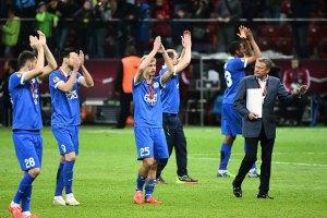 Україна завершила сезон на 8-му місці у таблиці коефіцієнтів УЄФА