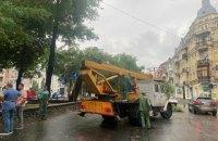 95% підтоплень після потужної зливи в Києві ліквідували