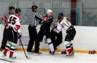 На прем'єрі хокейного чемпіонату київські команди заробили 220 хвилин штрафу