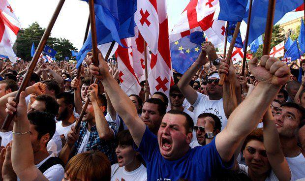 Оппозиция получила в Грузии существенную поддержку населения