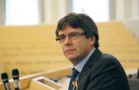 Пучдемон має намір продовжити боротьбу за незалежність Каталонії