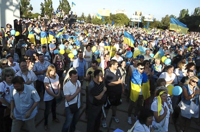 Святкування дня звільнення Маріуполя