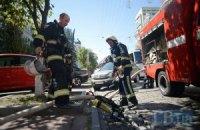 В Киевской области сгорел суд