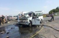 В ДТП в Черкасской области погиб человек, 10 госпитализированы