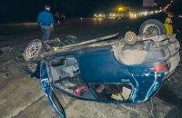 У ДТП під Києвом загинула людина, ще двоє постраждали