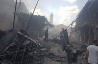 Потужний вибух пролунав у місті Газа, є жертви