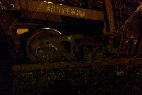 Поїзд перекрив трасу Київ - Чоп біля Львова
