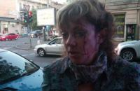 В Одессе неизвестный напал на активистку
