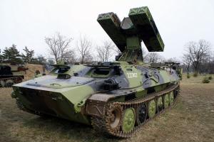 """Миссия ОБСЕ обнаружила у боевиков зенитные комплексы """"Стрела-10"""""""