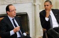 Обама і Олланд виступили за збереження санкцій проти Росії