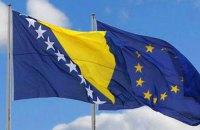 Рада ЄС визнала Боснію і Герцеговину не готовою до членства у ЄС