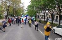 У Хабаровську понад тисяча мешканців вийшла на антикремлівський мітинг