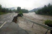 ДСНС попереджає про підвищення рівня води в річках на заході України через зливи